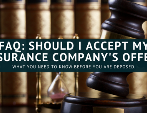Should You Accept The Car Accident Settlement Offer?